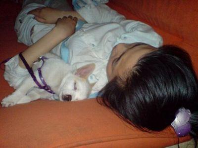 中国のネットカフェでぐっすり眠る人々13