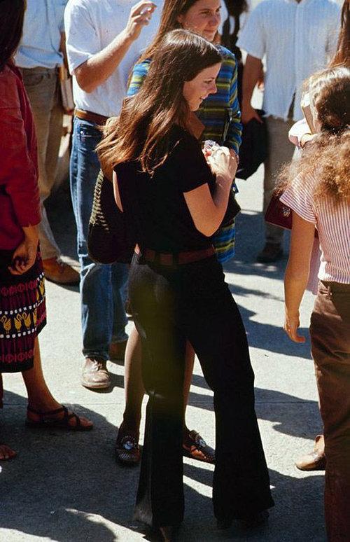 40年前のアメリカの女子高生ファッション07