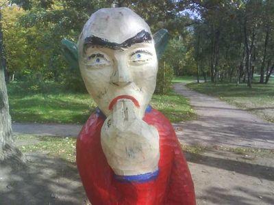 ロシアの公園の遊具21