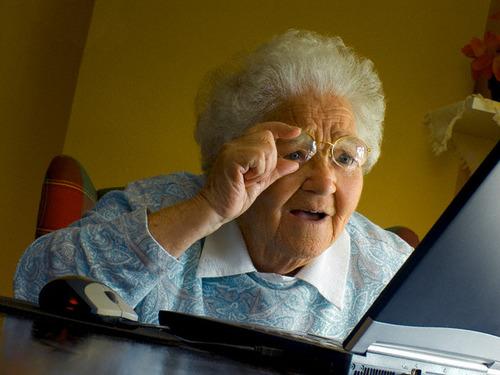 おばあちゃんがお気に入りのサイトを見せてくれた02