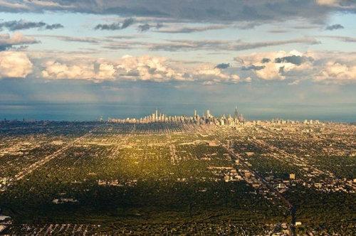 上空から見た都市05