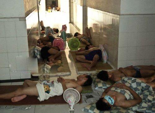 猛暑の武漢市09