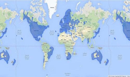 世界地図いろいろ12