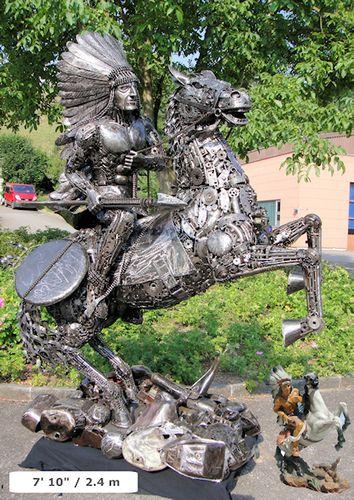 リサイクル彫像06