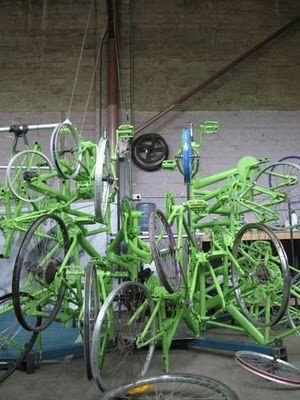 自転車クリスマスツリー01