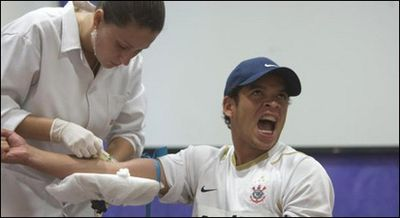サッカーの超名門コリンチャンスの選手達が女々しすぎて泣ける01