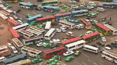 世界各国の渋滞-中国