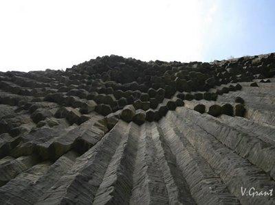 アルメニアの柱状節理07