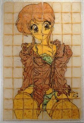 パンを焼いて描く「トーストアート」05