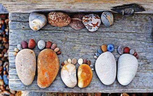 石の足跡11