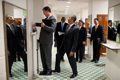 お茶目なオバマ大統領01