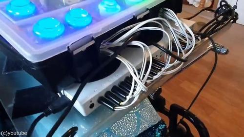 パパが娘のためにゼルダ専用コントローラーを作る02