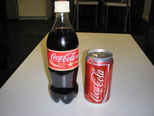 炭酸飲料はペットボトルより缶のほうが炭酸が強い
