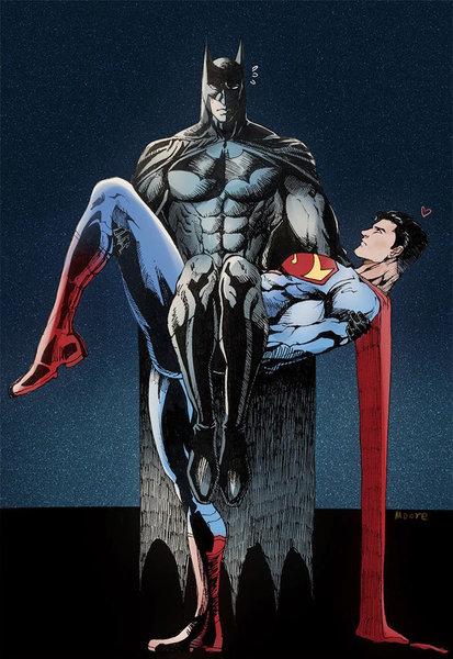 バットマンとスーパーマン00