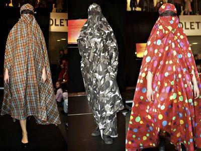 イスラム女性のファッションショーTOP