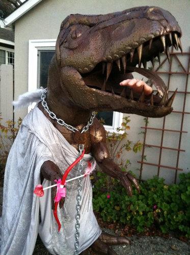 庭にいる恐竜07