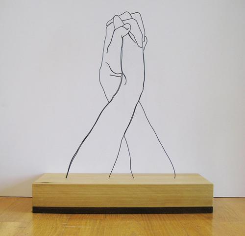 針金アート04