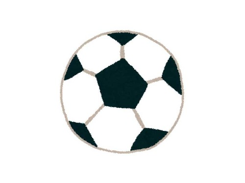 サッカー選手と1歳児