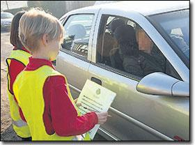 子どもに注意されるスピード違反01