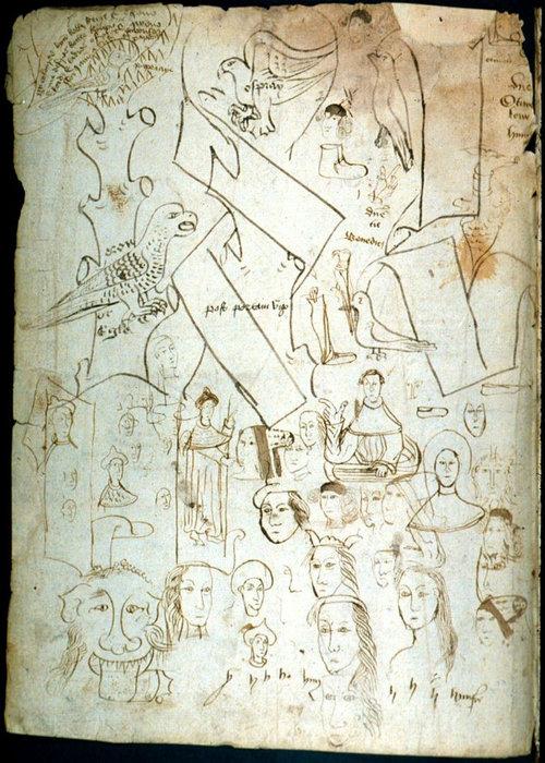 中世ヨーロッパの落書き09