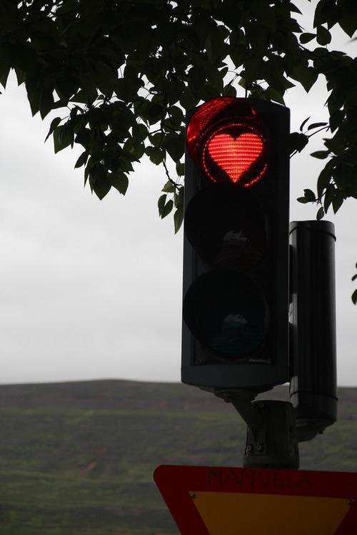 ハートの赤信号01