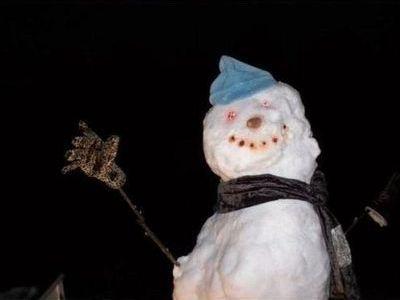 雪ダルマ00