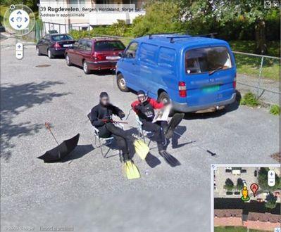 ノルウェー人のGoogleストリートビュー02