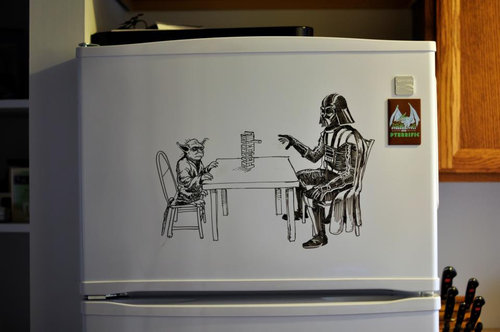 冷蔵庫アート11