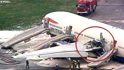 ヒースロー空港で緊急着陸09