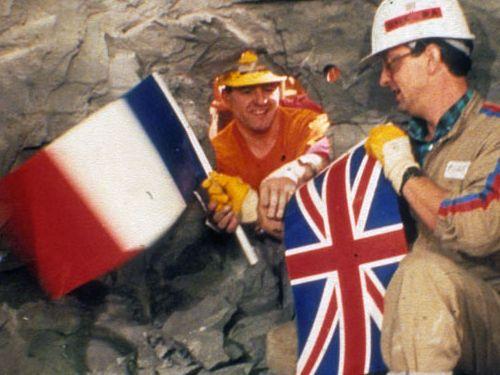 英仏海峡トンネルが1990年に初めて出会ったとき02