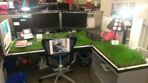 オフィスのイタズラ24