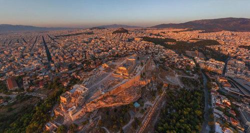 上空から見た都市19