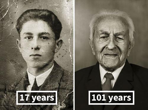 100歳越えの人の若い頃04