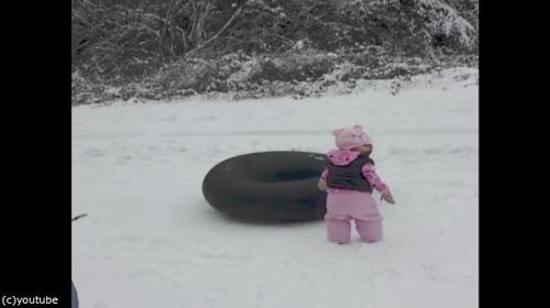 雪の日のわんこ01
