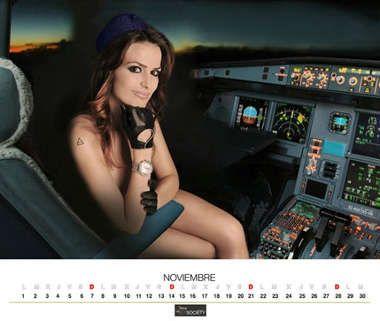 スチュワーデス・カレンダー11
