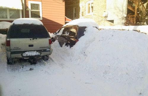 大雪の翌日01