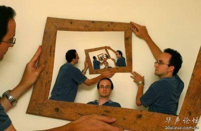 合わせ鏡のような不思議な写真06