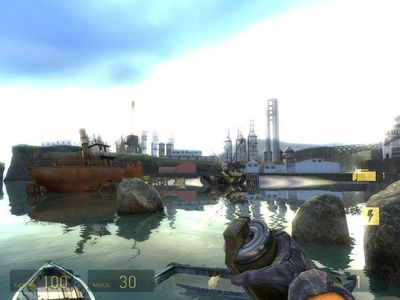 2004: Half-Life 2 mit lustiger Effektphysik (PC)