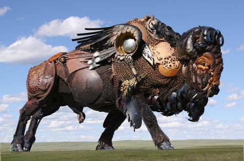 ノースダコタの彫像16