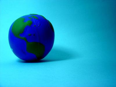 緑の地球を守って……