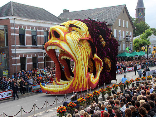 オランダのフラワーパレードとゴッホ06