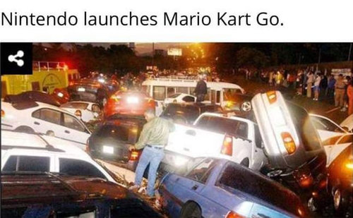 「もしも任天堂がマリオカートGOを発売したら01