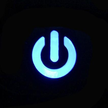PCの電源スイッチ