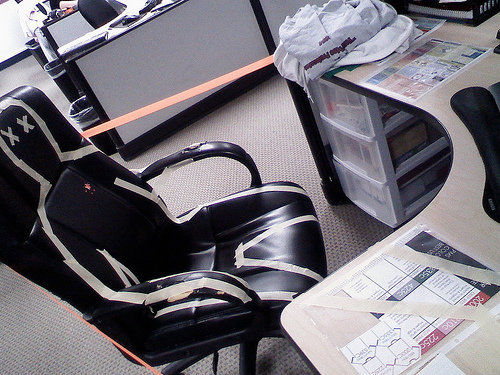 オフィスのイタズラA11