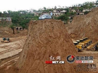 強引な中国の建築現場05