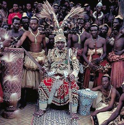 アフリカの部族の王や族長たち09