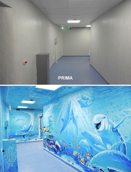 病院をペイント04
