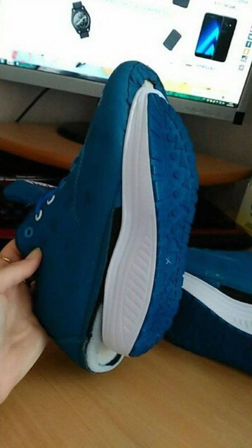中国製のshoesを買って失敗02