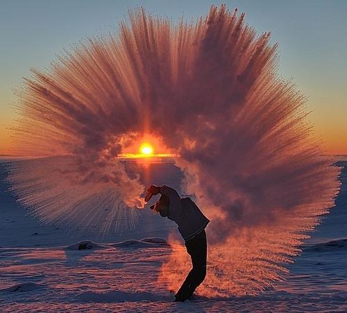 北極で魔法瓶の紅茶を振りまいたら03