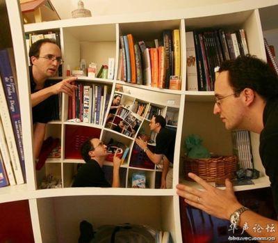 合わせ鏡のような不思議な写真08